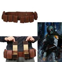 Boba Fett Cosplay Belt Star Wars Gun Waist Bag Costume Props Halloween Xcoser