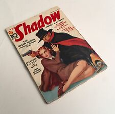 The Shadow Magazine August 15, 1938 The Green Hoods plus Others