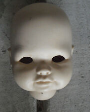 "Vintage Porcelain Prestige Dolls Originals Girl Open Dome Head 4"" Tall"