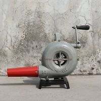Forge Furnace With Hand Blower Vintage Style Pedal Type Handle Blacksmiths
