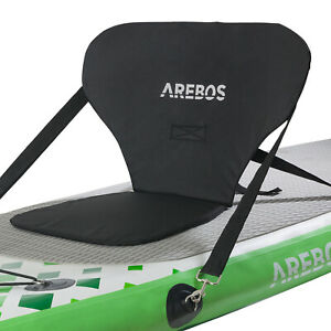 AREBOS Kajak-Sitz für SUP Board Stand Up Paddle Surfboard Top Comfort