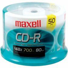 Maxell Cdr-700mx48/50sp 48x Write-once Cd-r Spindle For Data (maxell (max648250)