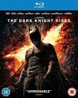 The Dark Knight Rises [Blu-ray] [2012] 2-Disc Set Christian Bale Batman New