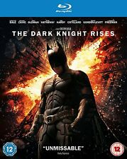 The Dark Knight Rises [Blu-ray] [2012] 2-Disc Set Christian Bale Batman New