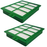 für Moulinex Compacteo Cyclonic Filterset Vormotor + Abluft + HEPA + Pinsel