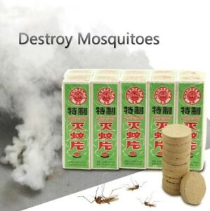 2 Packs portable smoke pest control insect mosquito repellent (20Pcs)