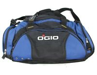 OGIO 50 Liter 3000 Cubic Inches Blue Black Travel Weekender Gym Duffel Bag