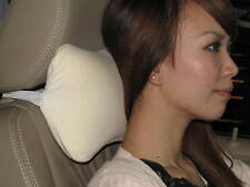 Car Seat Headrest Memory Foam Pillow for Travel Air Flight by Dreamsweet D6B