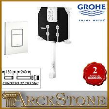 ARCKSTONE GROHE 38863 000 Cassetta + canotto + piastra Skate Cosmopolitan bianca