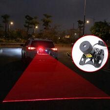 12V  Laser Tail Fog Light Auto Brake Parking Lamp Rearing Warning Light NEW AT