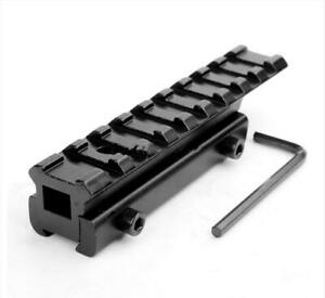Extension 11 to 20mm Dovetail to Weaver Rail Mount Base Adapter For Rifle Scope