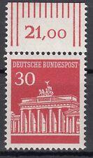TIMBRE ALLEMAGNE  NEUF N° 370 ** PORTE DE BRANDEBOURG A BERLIN BORD DE FEUILLE