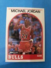 Michael Jordan 1989-90 NBA Hoops #200 , Chicago Bulls