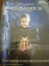 Hellraiser III: Hell on Earth (DVD, 2001) RARE OOP! Clive Barker WORLD SHIP AVAI