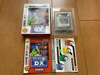 GameBoy TETRIS Deluxe DX  GB with BOX and Manual