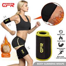Hot Sweat Sauna Body Shaper Arm Leg Thigh Trainer Slimming Thermo Belt Wrap US