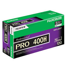 Fuji Pro 400 H 120 Professional Colour Roll Film - PACK of 5