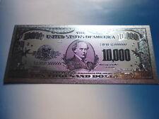 USA 10.000 DOLLARS / 999 SILVER APPLIKATION SILBER ARGENTO #4844