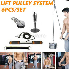 Fitness Pulley Tricep Rope Cable System DIY Loading Pin Lifting Workout Training