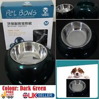 Pet Feeding Bowl Stainless Steel Food Dish Water Bowls For Dog Cat Pets Animals.