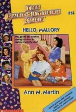 Hello, Mallory (The Baby-Sitters Club, No. 14) by Ann Matthews Martin, Good Book
