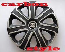 """14"""" Seat Ibiza, Cordoba, Arosa,... Copricerchi/coperchi, tappi, quantità 4"""
