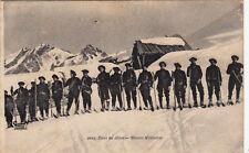 GUERRE chasseur alpin ski skieurs militaires