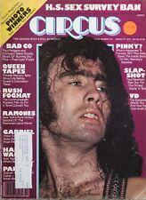 Circus Magazine March 1977 Queen, Rush, Ramones, Peter Gabriel, Bad Co.