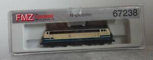 Fleischmann Spur N 67238 FMZ digital DB 218 498 4 top Zustand mit OVP