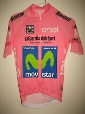 Giro d´Italia ISSUED for QUINTANA cycling jersey shirt maillot Movistar size S