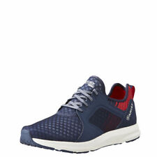 """Ariat 10023104 Fuse 3.5"""" Team Navy English Casual Lace Up Athletic Sport Shoes"""