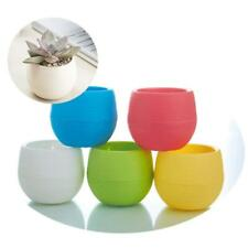 Indoor &Outdoor Garden Balcony Plant Pot Plastic Planter Patio Office Home Deco#