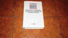 ISCRIZIONI FUNERARIE SORTILEGI PRONOSTICI DI ROMA ANTICA I MILLENNI EINAUDI 1982