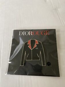 DIOR VIP GIFT Fashion jacket Pin NEW & AUTHENTIC