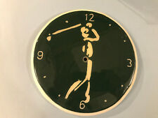 Golf Quartz Wall Clock