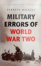 Military Errors of World War Two - Kenneth Macksey