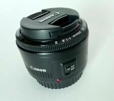 Canon EF 50mm f/1.8 II Lens in Retail Box Excellent Condition