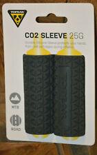 Topeak CO2 Manga 25g Silicona Para CO2 Cartuchos Antideslizante Gris