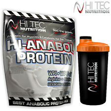 HI-ANABOL 91% WHEY PROTEIN 1kg FREE SHAKER Bodybuilding Nutrition Muscle Growth