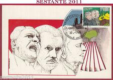 ITALIA MAXIMUM MAXI CARD ROMA 504 PATTO DI VITTORIO BUOZZI GRANDI 1984 B743