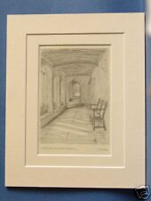 NORFOLK NORWICH ST. HELEN'S HOSPITAL CLOISTERS 1925 PIC