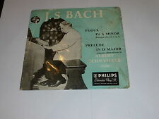 "ALBERT SCHWEITZER - J S Bach - FUGUE (In A Minor) - UK 7"" Vinyl Single"