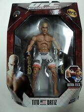 TITO ORTIZ UFC Ultimate Fighting Jakks Pacific Series 6 Deluxe figure WITH BOX