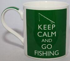 Keep Calm And Go Fishing -Ceramic Mug