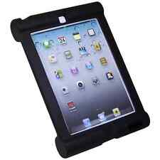 iPad 2, 3 & 4 Hi Quality Shock Proof Silicone Protective Edge Cover Frame Case