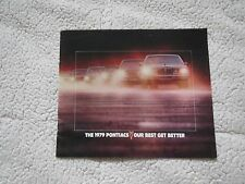 1979 PONTIAC GRAND PRIX AM FIREBIRD BONNEVILLE SUNBIRD BONNEVILLE SALES BROCHURE