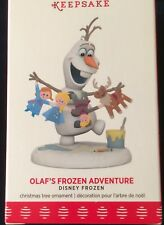 "New Listing2017 Hallmark ~ Disney Frozen~ ""Olaf's Frozen Adventurei"" ~ Nib"