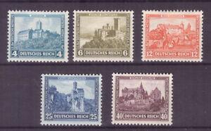 Deutsches Reich Nr. 474/78 Nothilfe 1932 * MH dekorative Serie! Mi: 50€!