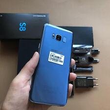 Samsung Galaxy S8 64GB G950U ORIGINAL AZUL  GARANTIA 1 AÑO +CAJA+ACCESORIOS