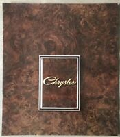1972 Chrysler by Chrysler original Australian sales brochure - 11/200112R